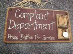 funny sign---SEE you COULD have bought all those mouse traps at the sale-- even the rat ones.......he!he!