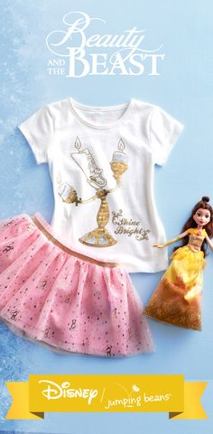 Easy-to-wear separates are perfect for toddlers. With her favorite movie characters and styles, these are about to be her new favorites. Find this look and more for toddler girls in the new collection. Discover the magic of Disney Beauty and the Beast at Kohl's.