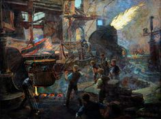 The Wealth of England, the Bessemer Process of Making Steel by William Holt Yates Titcomb, 1895.