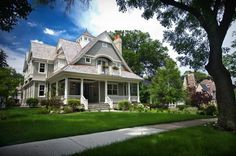 Cottage-style homes make me feel happy. dream-house
