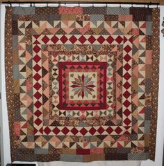 What a great medallion quilt.