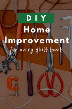 DIY Home Improvement Projects For Every Skill Level - Vivint SmartHome Whether you're a DIY newbie or a seasoned pro, here are some of the best home improvement ideas for any skill level. Smart Home Design, Diy Fire Pit, Fire Pits, Homemade 3d Printer, Temporary Wall, Diy Cabinets, Home Improvement Projects, Decoration, Simple