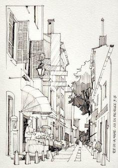 Jorge Royan_watercolor paintings_city-art__urban sketch_акварель_город~