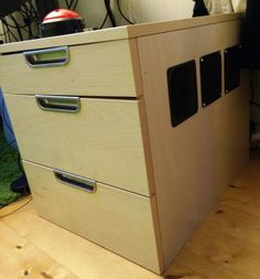 1000 images about ikea hacks on pinterest ikea hackers for Ikea galant bureau debout hack