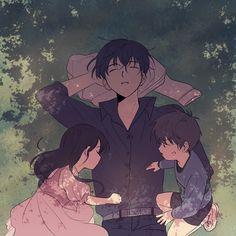Anime Siblings, Anime Child, Manhwa Manga, Manga Anime, Anime Art, I Love Anime, Anime Guys, Familia Anime, Anime Family