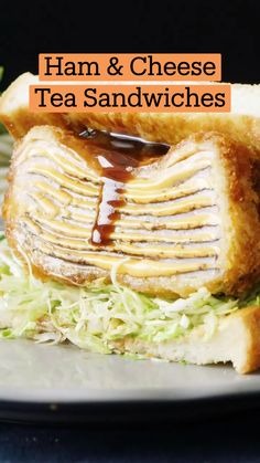 Fun Baking Recipes, Real Food Recipes, Cooking Recipes, Tasty, Yummy Food, Tea Sandwiches, I Love Food, No Cook Meals, Food Videos