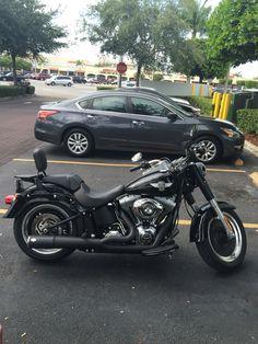FatBoy Lo pics with Shotgun... Harley Davidson Forums
