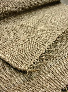 Jute Rug - Rugs - Accessories - Tinsmiths | Linen and Cotton Fabrics, Lighting, Curtains and Accessories