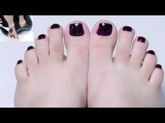 Como fazer as unhas dos pés em casa |Dicas caseiras - YouTube Manicure And Pedicure, Diy And Crafts, Personal Care, Nails, Bananas, Youtube, Videos, French Tip Toes, Manicure Tips