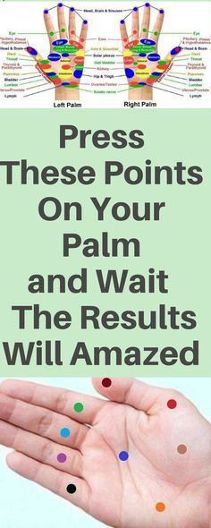 Press These Points On Your Palm and Wait – The Results Will Amazed You! » Plain Live