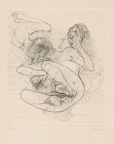 Hans Bellmer 1902-1975, German) - Les dessins de Hans Bellmer. 1966