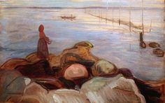 Woman by the Sea, by Edvard Munch