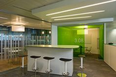 Mansfield Monk contemporary interior office Design in Fleet Place London | Contemporary Interior Design Forum and Blog