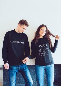 Cute Couple Shirts, Matching Couple Outfits, Matching Gifts, Couple Clothes, His And Hers Hoodies, Matching Hoodies For Couples, Matching Sweaters, Mother Daughter Matching Outfits, Best Friend Shirts