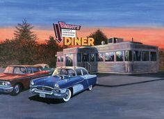 PBN 50's Diner Adult Large
