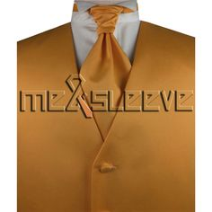 free shipping dark orange classical vests sets(vest+ascot tie+cufflinks+handkerchief)