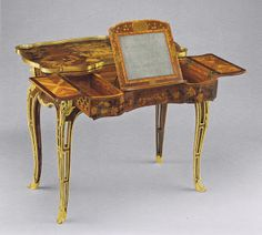 Mechanical table, 1760, Metropolitan Museum Material World: Grace & Favour-The World of Madame de Pompadour