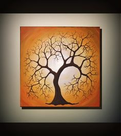 Original Fine Art Tree of Life Painting