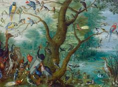 Circle of Jan van Kessel Anonymous Artist Kessel, Jan van Flemish, 1626 - 1679 Concert of Birds 1660/1670