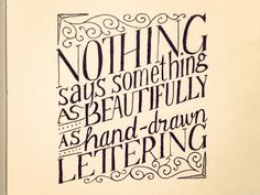 40 Remarkable Examples Of Hand Lettered Calligraphy | inspirationfeed.com - Part 2