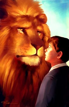 'My son, my son,' said Aslan, 'I know. Grief is great. Only you and I in this land know that yet. Let us be good to one another.'    The Lion´s Tears by Dawn D Davidson