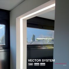 VECTOR SYSTEM Lineares LED Lichtleiste by METALMEK ILLUMINAZIONE Design METALMEK ILLUMINAZIONE