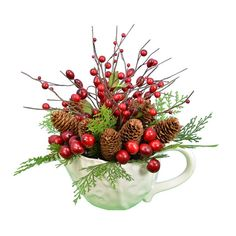 You'll love the 15 Berry Pine Cone Teapot at Wayfair - Great Deals on all Décor products with Free Shipping on most stuff, even the big stuff.