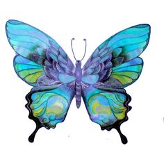 Ette's Butterfly - CSI for Poly, found on Butterfly Outline, Butterfly Clip Art, Butterfly Images, Butterfly Drawing, Butterfly Painting, Butterfly Wallpaper, Butterfly Wings, Arte Country, Glitter Graphics