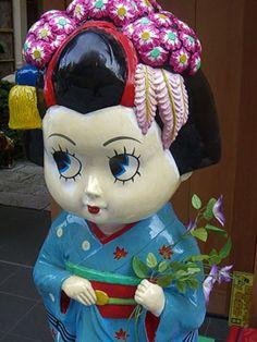 ベティちゃん芸者 Betty Boop Geisha. Japan