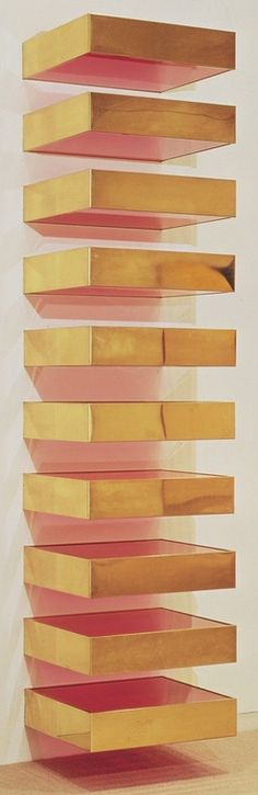 This would be great for shoes if spaced wider apart!  Donald Judd