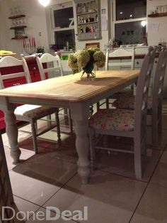 French Dining Table on DoneDeal €115 Shabby Chic