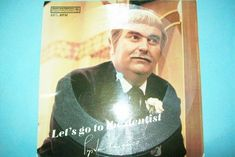 "Vintage 1968 Captain Kangaroo Cardboard Record - ""Let's Go to the Dentist"""
