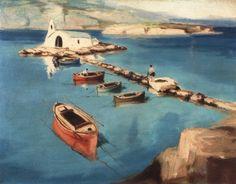Κρυστάλλης Ανδρέας – Andreas Krystallis [1911-1951]   paletaart – Χρώμα & Φώς