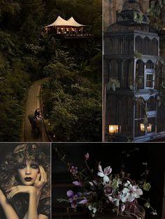 Plum Tree Weddings   UK Wedding Blog for Stylish Modern Brides: Inspiration for the Weekend...Dark and Exotic