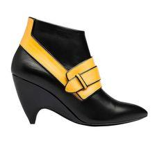 BALENCIAGA ARCADE BOOTS NICOLAS GHESQUIERE BLACK YELLOW BOOTIES SIZE 38   fashion  clothing  shoes 2698b461279b9