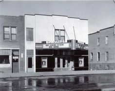 The Capitol Theatre on Ross Street, Now the location of Sunworks. Bob Burns, Texaco, Red Deer, Old Buildings, Historical Photos, Theatre, The Past, Canada, History