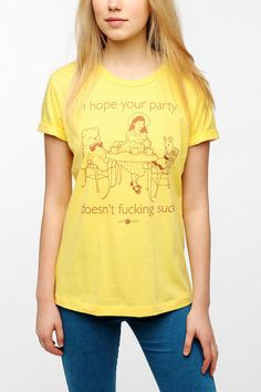 someecards I Hope Your Party Tee   #UrbanOutfitters