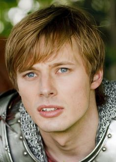 Arthur from the show Merlin, played by Bradley James