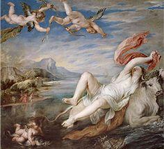 El rapto de Europa de Rubens