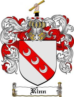 Rinn Coat of Arms Rinn Family Crest Instant Download - for sale, $7.99 at Scubbly