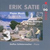 Erik Satie: Piano Music, Vol. 3 [CD]