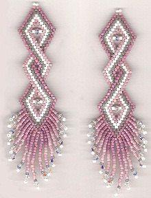 Instant Download! Double Helix Earrings Pattern