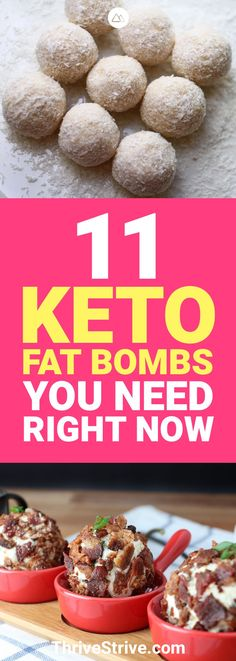 Reaching your daily macros on a ketogenic diet can sometimes be hard. Here are 11 keto fat bombs that will help you reach them.