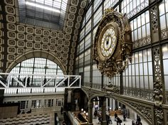Orsay museum - The bridge by Laurent photography, via Flickr