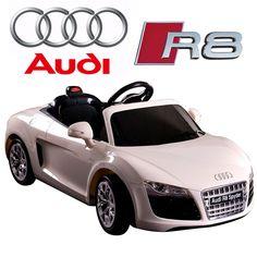 kids licensed 12v audi r8 spyder ride on car 25995 kids electric cars