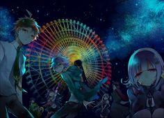 Super Dangan Ronpa 2 - Hajime Hinata, Kazuichi Souda, Hiyoko Saionji, Ibuki Mioda, Nagito Komaeda, Sonia Nevermind, Gundam Tanaka, Chiaki Nanami