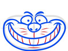 how to draw cheshire cat easy step 5
