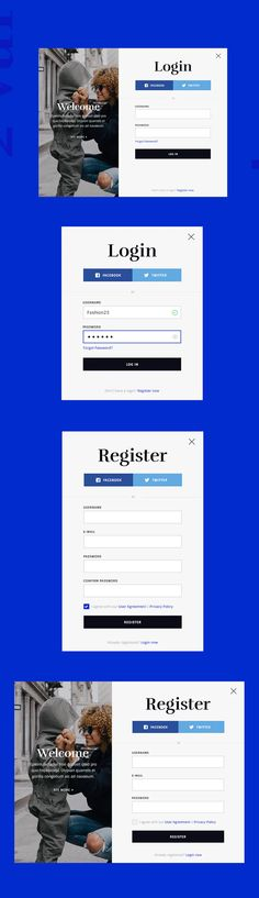 Login and Registration Form Templates Registration Form, Web Forms, Form Design, Templates, Stencils, Template, Western Food, Patterns