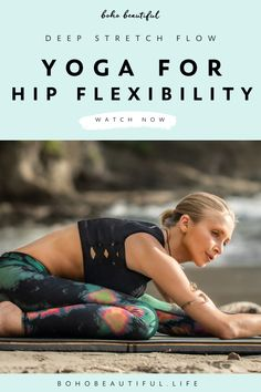 Yoga For Legs, Lower Body Stretches, Yoga For Flexibility, Flexibility Exercises, Stretching Exercises, Boho Beautiful, Stretch Routine, Yoga For Weight Loss, Yoga Tips