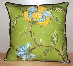 Hey, I found this really awesome Etsy listing at http://www.etsy.com/listing/163519789/22x22-modern-green-and-blue-floral-linen